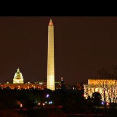 I would loveeee to go back to D.C.