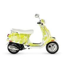 Ride Colorfully anywhere on this awesome Vespa.  #ridecolorfully