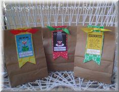 Mario Bros. Party EDITABLE Thank You Gift Tags