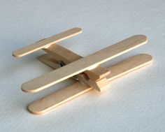 The Project Lady: DIY Wooden Clothespin Airplane Toys or Baby Mobile...