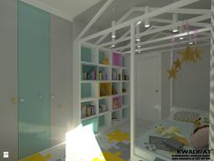Pokój dziecka styl Skandynawski - zdjęcie od CKkwadrat - Pokój dziecka - Styl Skandynawski - CKkwadrat