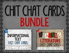 Chit Chat Cards Bundle Grades 4-8