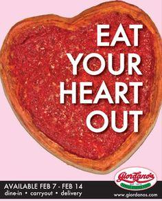 Giordano's, great Chicago pizza,