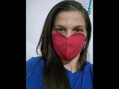 Máscara Anatômica de Coração. 1ª Parte Molde. - YouTube Nose Mask, Diy Face Mask, Fleece Crafts, Fashion Mask, Lose Weight At Home, Applique Quilts, Mask For Kids, Sewing Hacks, Crochet