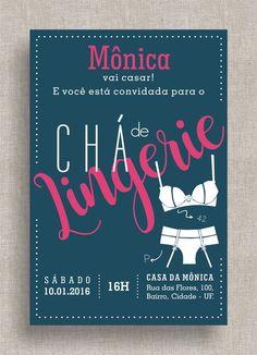 Convite Digital Chá de Lingerie 07