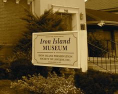 Iron Island Museum, Lovejoy, NY. Haunted Museum in Buffalo's Lovejoy district has been featured many times on tv and in print as a place known for its supernatural activity.