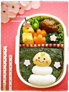 Kagami-mochi New year's bento