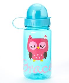 Owl Dome Top Water Bottle
