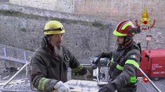 Sisma centro Italia - Soccorsi dei Vigili del Fuoco - Camerino 26 Dicemb...
