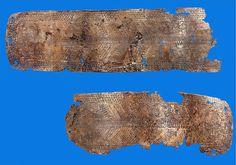 Пояс из листовой бронзы. Азербайджан,с. Еникед 2012г. длина-90см.