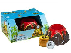 PongCano  Family Party Game with Pong Ball and Volcano  Bouncing Fun for Kids and Adults 8 Years and Up >>> Click image to review more details.