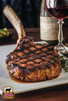 If you live in the DC area, you must go to Annie's on Kent Island and order their steak. I am not joking when I say it is the best steak you will ever eat. Grilling Recipes, Meat Recipes, Cooking Recipes, Tomahawk Steak Recipe, Steak And Seafood, Good Food, Yummy Food, How To Grill Steak, Beef Dishes