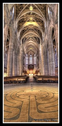 Gorgeous Grace Cathedral in SF.