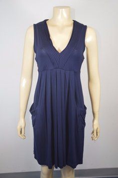 f92288bad3 Calvin Klein Blue Women s Navy Sleeveless Knee Length Short Casual Dress  Size 8 (M) 80% off retail