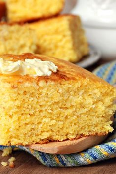 Grandmother's Buttermilk Cornbread #Recipe