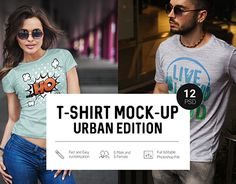 "Check out new work on my @Behance portfolio: ""T-Shirt Mock-Up Urban Edition"" http://be.net/gallery/54465627/T-Shirt-Mock-Up-Urban-Edition"