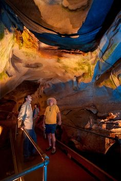 A is for Alabaster Caverns State Park! One of Oklahoma's most unique state parks is also one of the only gypsum caves open to the public for tours in the world.