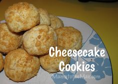 Mmmm, cheesecake! Very filling cookie! #Cheesecake #cookie #dessert www.mamatothemax.com