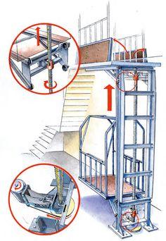 самодельный лифт в подвал - Google Zoeken