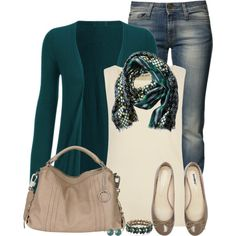 Sea-Green, created by immacherry on Polyvore