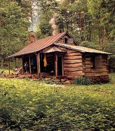 somewhere to escape the madness - cabin for me