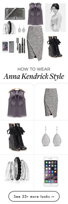 """""""Gray :3"""" by rita65 on Polyvore featuring H&M, Chloé, Chanel, Avenue, Kate Spade and Bobbi Brown Cosmetics"""