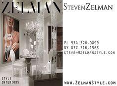 Zelman Style Interiors - #Miami #NewYork #InteriorDesign www.ZelmanStyle.com