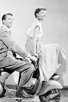 Roman Holiday (1953). Very aesthetically pleasing film. I was glad she carried out her royal duty in the end.