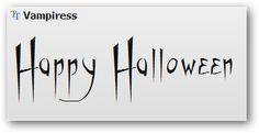 20 Halloween Fonts