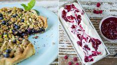 Fire fristende dessert-oppskrifter med sesongens bær Mexican, Fire, Ethnic Recipes, Pai, Mexicans
