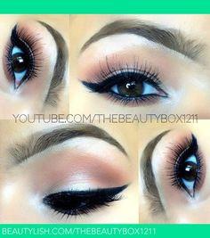 Easy eyes   Amanda M.'s (thebeautybox1211) Photo   Beautylish [image only]