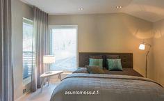 Nurkkaikkunat? Valmisjukka Trendo - Makuuhuone | Asuntomessut
