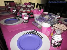 Cute ideas for Barbie party