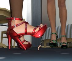 She doesn't want to hurt nobody or damage anything, but as she continues her stroll through the city, some of her steps or movements crush things on the. Kind but careless Giant People, Time Running Out, Stiletto Heels, Crushes, Deviantart, Amazing, High Heels, Spike Heels, Stilettos