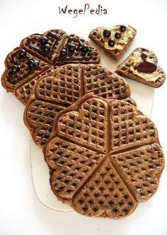 Vegan Recipes, Cooking Recipes, Vegan Food, Polish Recipes, Cannoli, Superfoods, Bon Appetit, Waffles, Pancakes
