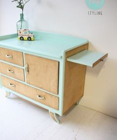 vintage commode mint:hout 04