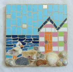 Best Mozaic Projects To Beautify Every Corner Of Your Space 35 Mosaic Tray, Mirror Mosaic, Mosaic Tiles, Mirror Tiles, Mosaic Wall, Mosaic Glass, Fused Glass, Stained Glass, Mosaic Crafts