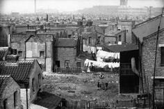 Looking over the East End towards Bow, 1935