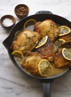 Five-Ingredient Skillet Chicken