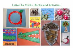 Letter of The Week – Letter A Theme! Starting this each week with my Kindergarten child. Teaching Letters, Preschool Letters, Alphabet Activities, Preschool Activities, Abc Crafts, Alphabet Crafts, Letter A Crafts, Alphabet Soup, Bible Crafts