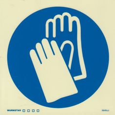 Marine Mandatory Sign: Gloves Symbol Currently there are no specific marine regulations existing regarding mandatory signage. However the requirements of flag and local state health and safety regulat