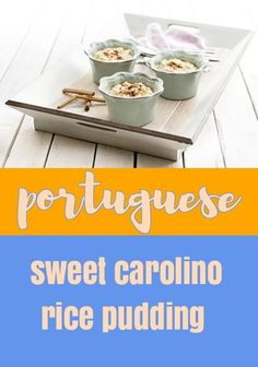 A delicious twist on a classic rice pudding. Surely the ultimate in comfort food