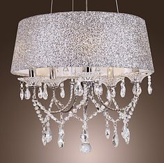 Dazzling crystal chandelier