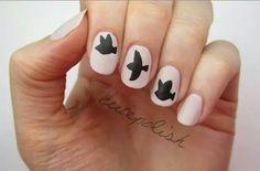 Divergent nail art!