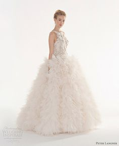 Peter Langner Couture 2013 bridal collection