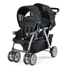 <p>Built for your expanding family. Easily travel together with 2 infants, 1 toddler and 1 infant, or 2 small toddlers.</p>  <p>With the same easy click-in KeyFit® attachment as the Cortina® stroller, the Together™ accommodates a car seat in both the front and rear seats. Exclusive forward-fold front seat accepts the KeyFit® or KeyFit® 30 using exclusive Fold & Click™ car seat attachment without the need for add-on bars or straps - no more missing pieces!</p>  <p>The rear seat has a full…