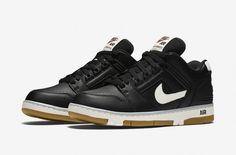 be4febdd99536 The Nike Air Force 2 Low Also Comes In A Black And White Colorway Nike Air