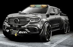 Carlex Design debuts with the EXY Monster X Concept of the Mercedes-Benz X-Class . - Carlex Design debuts with the EXY Monster X Concept of the Mercedes-Benz X-Class – - Mercedes Auto, Mercedes Truck, Porsche Auto, Pickup Trucks, Chevy Trucks, Dually Trucks, Pickup Camper, Jeep Pickup, Lifted Chevy