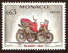 Monaco 1961 65c Delahaye.