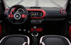 Inside the new #Renault #Twingo | Favz | Pinterest | Cars and Car ...